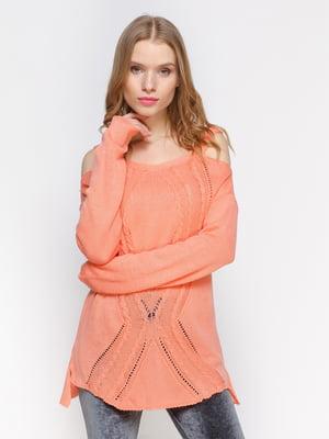 Джемпер персикового цвета | 3098651