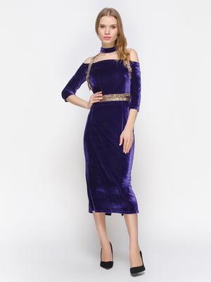 Платье фиолетовое | 2832707