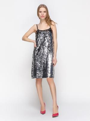 Сукня сріблястого кольору | 2832704
