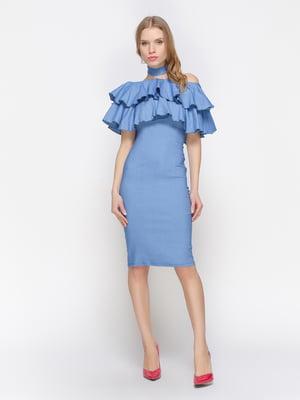 Сукня синя | 3155120