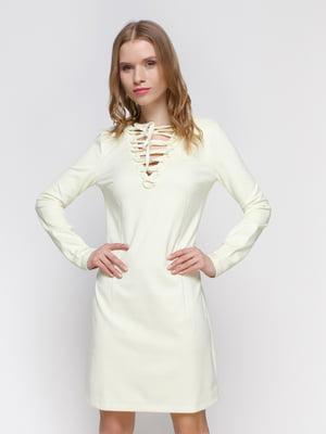 Сукня молочного кольору   3155119