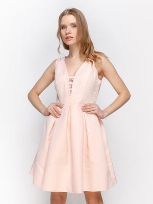 Платье персиковое | 3155131