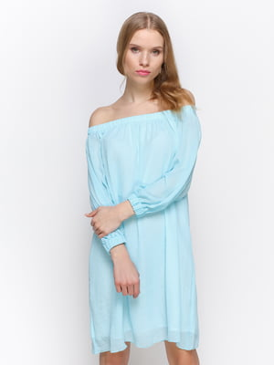 Платье голубое | 3155105
