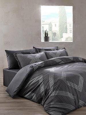 Комплект постельного белья двуспальный (евро) | 4593626