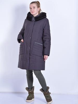 Пальто шоколадного цвета   4834506