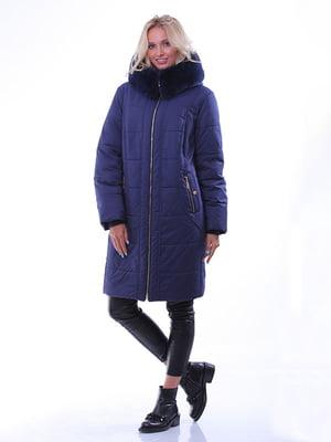 Пальто синее   4834509