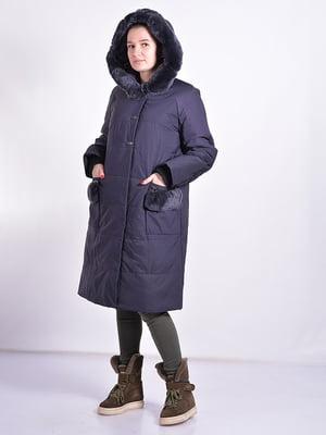 Пальто синее   4834513