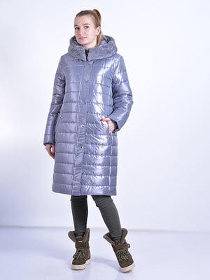 Пальто серое   4834519