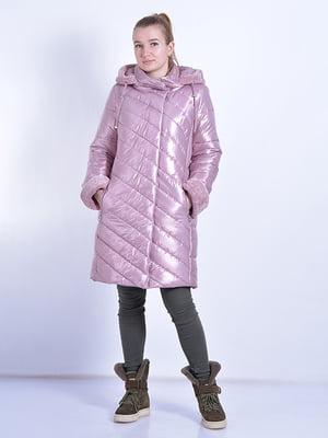 Пальто розовое   4834520