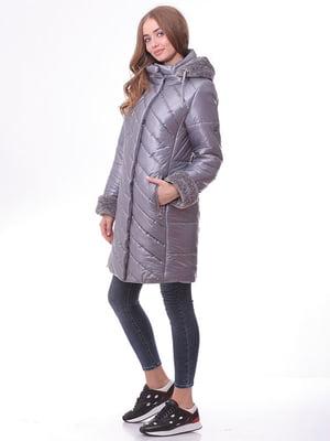 Пальто серое   4834521