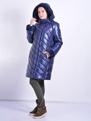 Пальто синее   4834522