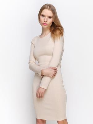 Платье цвета пудры | 2981653