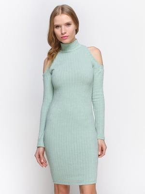 Платье мятного цвета | 2981663