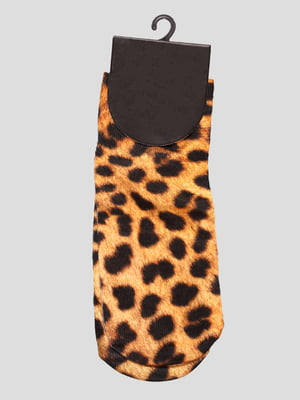 Носки в леопардовый принт | 4628329