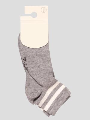 Носки серые | 4658204