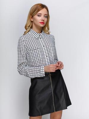 Блуза чорно-біла | 3098637