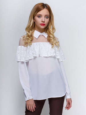 Блуза біла | 3109159