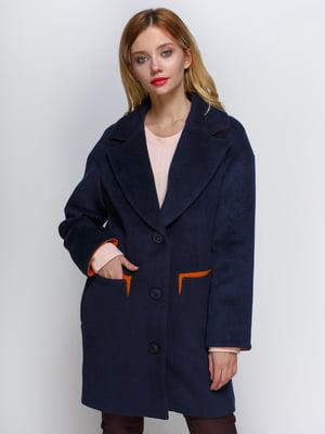 Пальто синее | 2127872