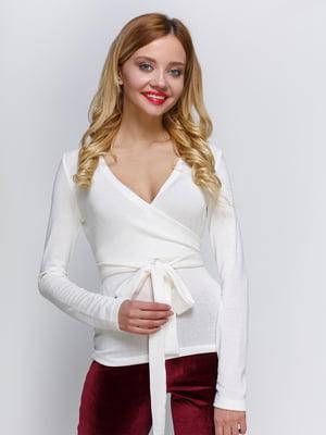 Пуловер молочного цвета | 2981673