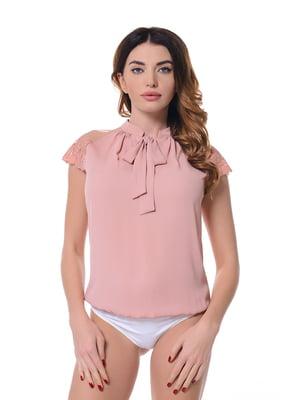 Блуза-боди розовая | 4836628