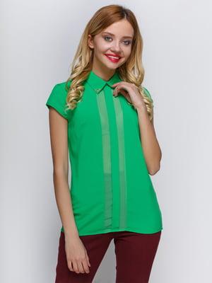 Блуза зелена | 2298206