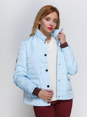 Куртка голубая | 2127866