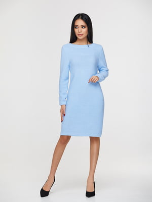 Платье голубое | 4836636