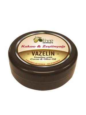 Вазелін-мазь косметичний «Какао і оливкова олія» (150 г) | 4836779