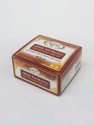 Мыло с оливковым маслом и можжевеловой смолой - ручная работа (170 г) | 4058971