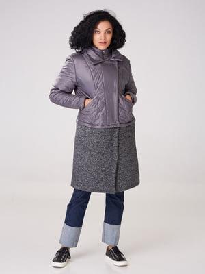 Пальто сіре | 4705186