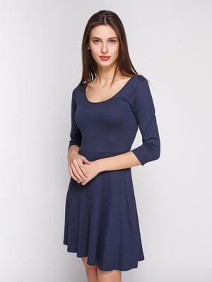 Платье темно-синее | 4834749