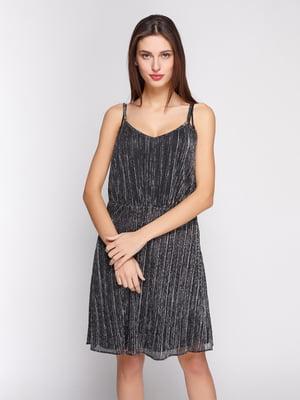 Платье серебристое | 4834727