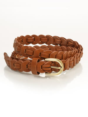 Ремінь коричневий | 2992476