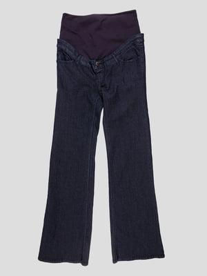 Джинсы темно-синие для будущих мам | 4834583