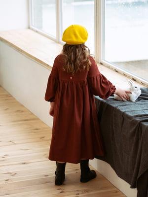 Платье терракотовое | 4840202