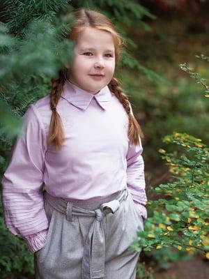 Блуза лавандового кольору | 4840207