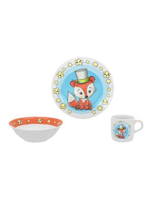 Набор детской посуды (3 предмета) | 4840370