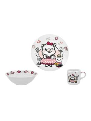 Набор детской посуды (3 предмета) | 4840371