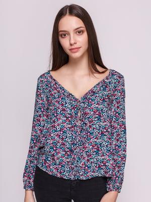 Блуза в цветочный принт | 3966906
