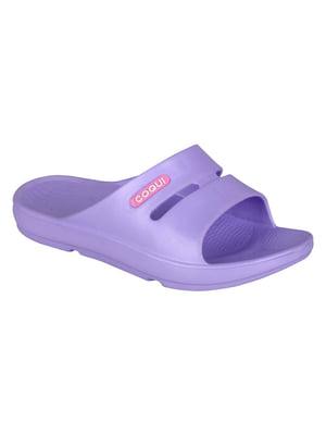 Шлепанцы фиолетовые | 4840774