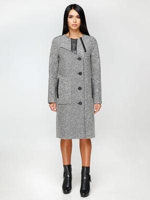 Пальто сіре | 4711653
