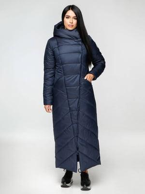 Пальто темно-синее | 4828101