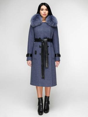 Пальто блакитне | 4828122