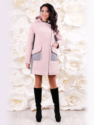 Пальто розовое | 4655224