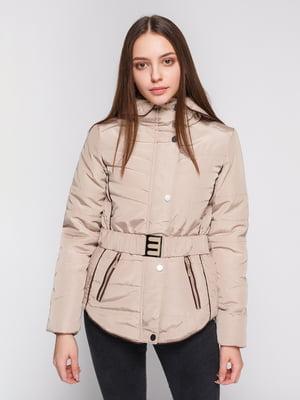 Куртка бежевая   4831477