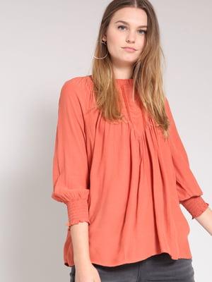 Блуза персикового цвета | 4508273