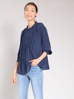 Блуза синяя | 4508274
