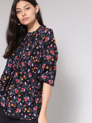 Блуза в цветочный принт   4508276