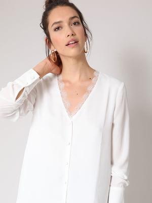 Блуза белая   4656148