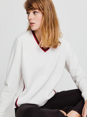 Пуловер белый | 4714835